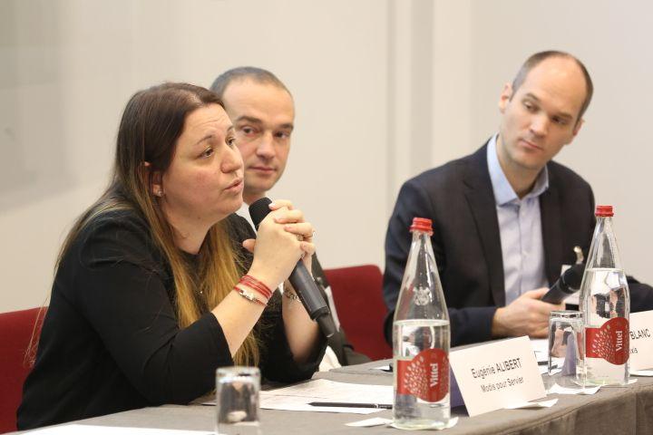 Eugénie Alibert, Chef de projets, Modis pour Servier