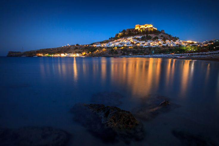 Lindos by night by Zoltan Duray on 500px