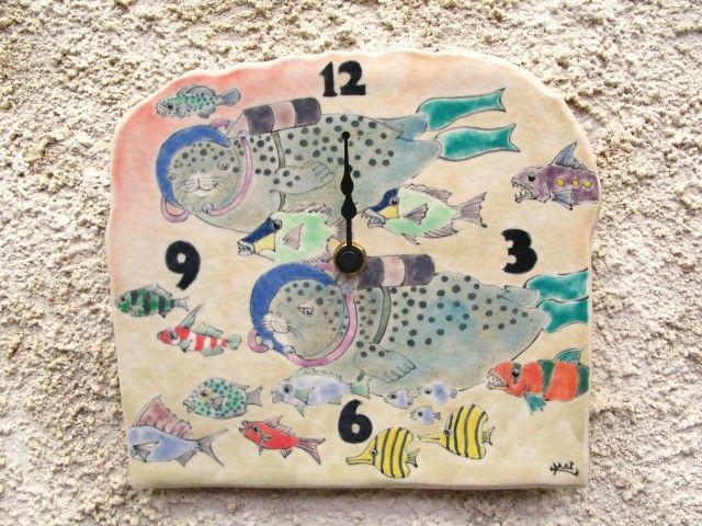 時計 ゴマフアザラシ - 中島圭一郎