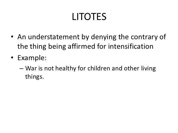 Litotes  Rhetorical Devices    Rhetorical Device