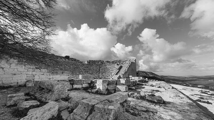 Le temple grec de Ségeste