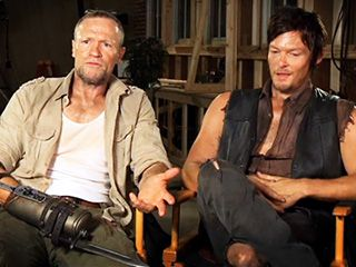 Norman Reedus and Michael Rooker discuss the upcoming Daryl and Merle Dixon reunion