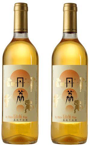 丹荔 lovely litchi wine for all our #wine loving #packaging peeps PD