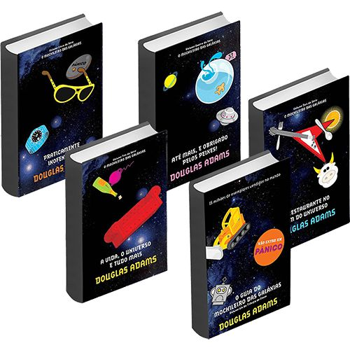 [SubmergindoCapitão] - Coleção O Guia do Mochileiro das Galáxias - Edição Econômica - R$19