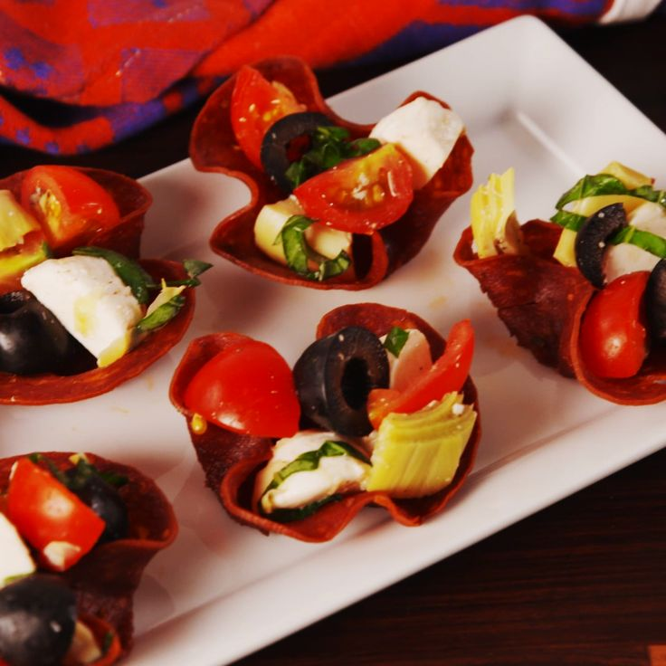 Antipasto Cups - Give that charcuterie plate a remix!
