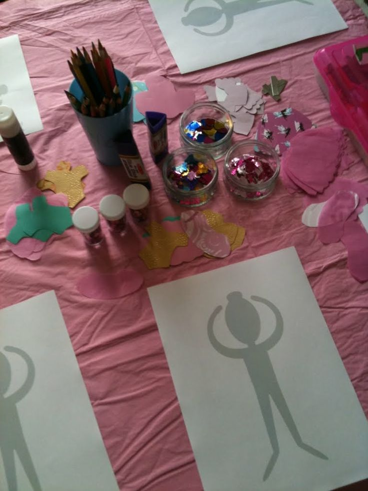 Ballet craft #party #ideas