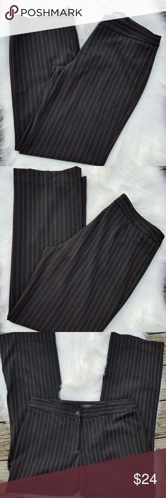 Karen Kane Lifestyle Pants Karen Kane Lifestyle Pants Size 8 Pinstriped Like New…