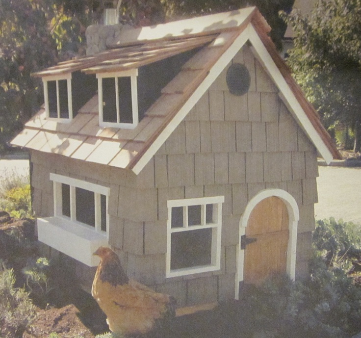 A great bungalow inspired chicken coop lifted from free for Free range chicken coop plans