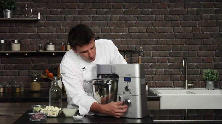 Recette de crème de panais réalisée au Cooking Chef de Kenwood