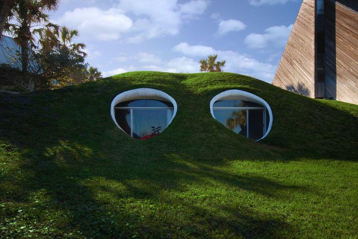 Dune House, Atlantic Beach | 27 Absolutely Stunning Underground Homes