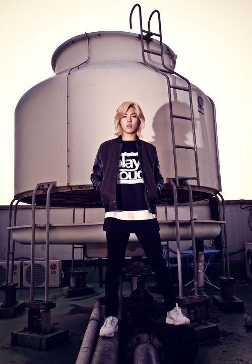 M.I.B Kangnam - @Star1 Magazine November Issue '14