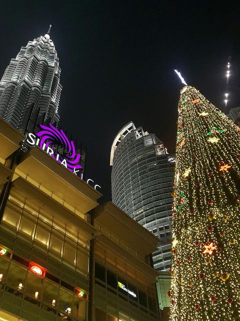 Suria KLCC during Christmas time
