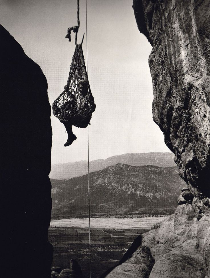 This is my Greece | Meteora by Fred Boissonnas (1903-1930)
