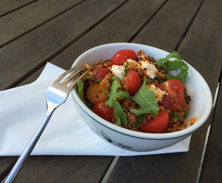 Schnelles Quinoa Risotto mit Feta und Rucola by Biancayvonne on www.rezeptwelt.de