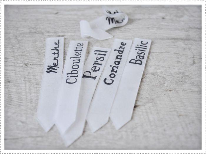 DIY étiquettes à semis - plastique fou