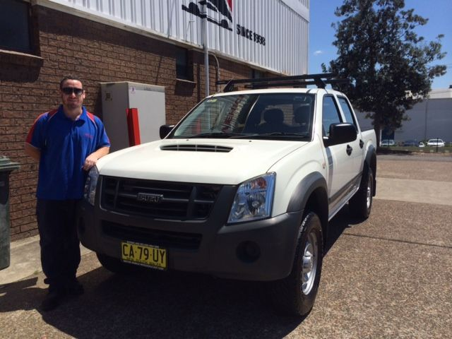 Matt from Newcastle Pest Control picked up his new work ute today. Thanks for visiting www.motorvehiclewholesale.com