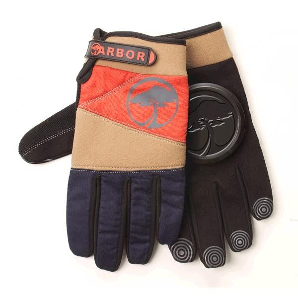 Arbor Signature Slide Gloves - Khaki Super styled out slide gloves that work great, last long, and increase your mojo by 17 points.