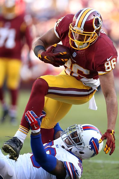 Tight end Jordan Reed of the Washington Redskins