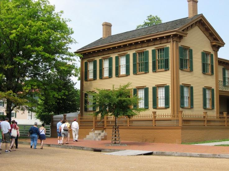 Abraham Lincoln's Home, Springfield, IL