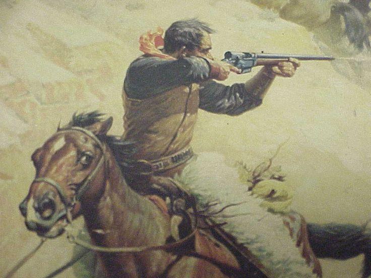 Frederic Remington Western Art | Western Color Print 3 .JPG (79296 bytes)