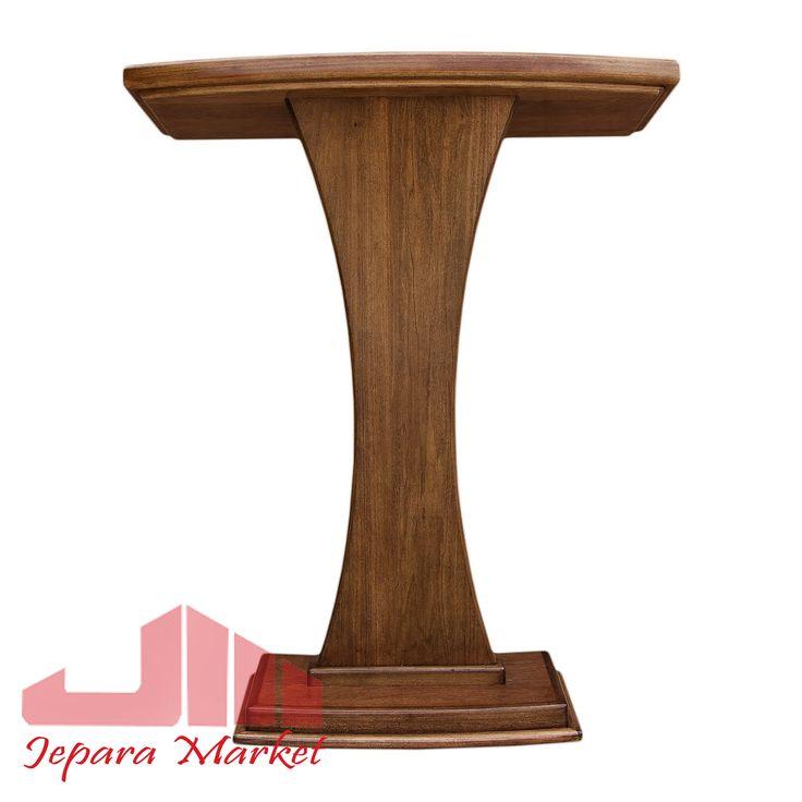 Furniture Jepara Podium Jati Minimalis Modern Terbuat