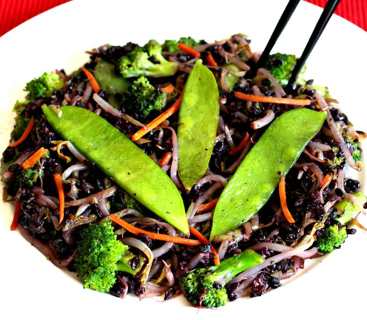 724 best meatless menu dinner images on pinterest vegetarian fatigue fighting forbidden black rice stir fry vegetarian mealshealthy mealshealthy foodhealthy recipesmeatless forumfinder Images