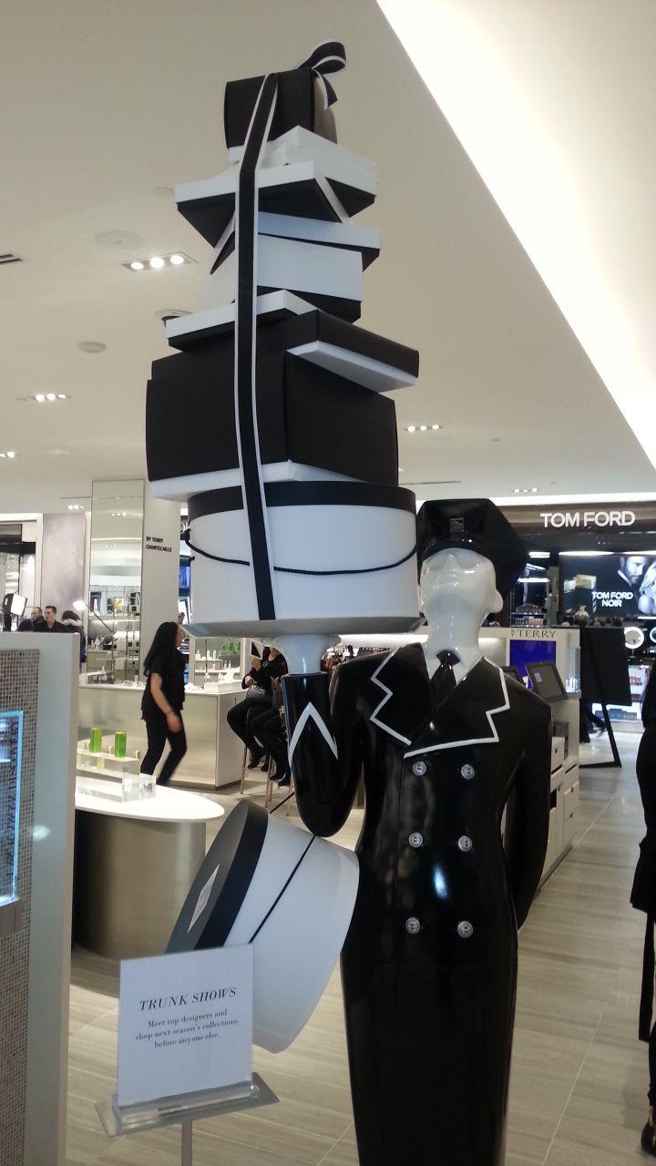 #Saks Fifth Avenue at Sherway Gardens mall Toronto Canada