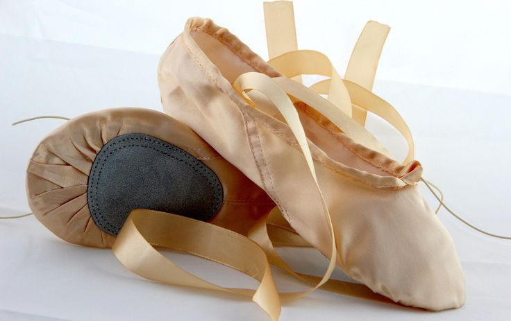 satin   with  ballet
