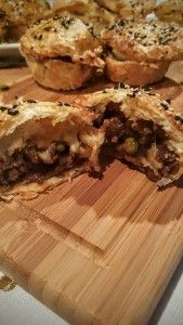 Mini Mince and Cheese pies
