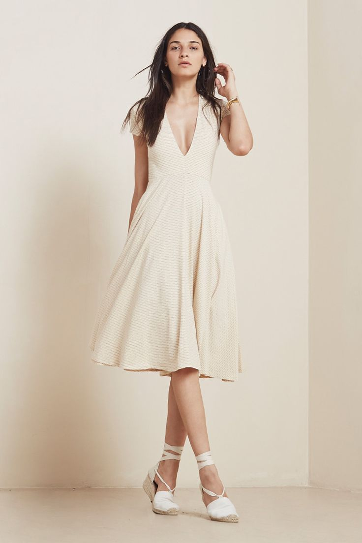 The Garnet Dress  https://thereformation.com/products/garnet-dress-lattice