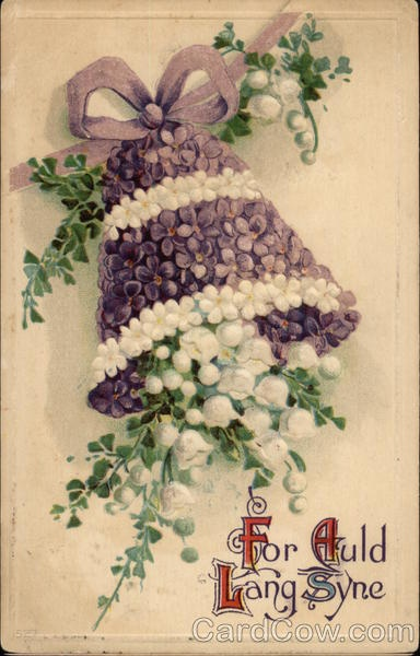 For Auld Lang Syne with Bell of Flowers New Year's