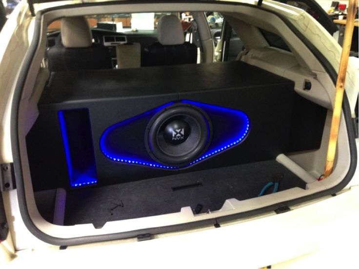 7 Best Cool Subwoofer Boxes Images On Pinterest Cars Bass And