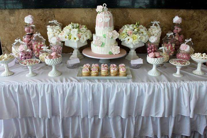 Dessert Table White Engagement Party Engagement Table Decorations Engagement Party