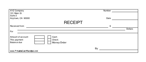 Printable Cash Receipt cash receipt SRI RAJ RAJESWARI - money receipt word format