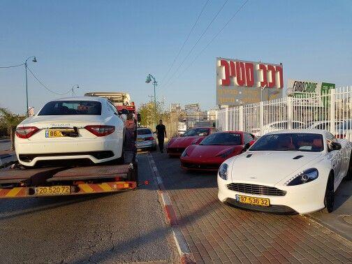Aston Martin DB9 & Ferrari 458 Italia & Ferrari California T & Maserati Granturismo Sport