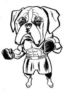 Boxer Coloring Page Boxer Love Dog Coloring Page