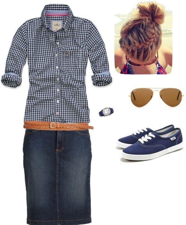 Casual n' Preppy | Good prep school outfit…