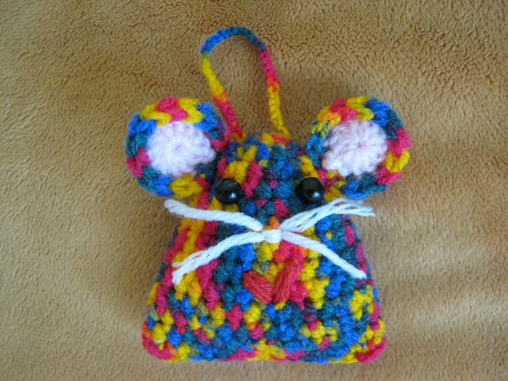 Crochet mouse for my daughter