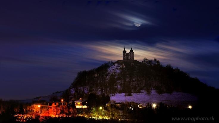 Marian Garai, Banska STiavnica, Slovakia , at night