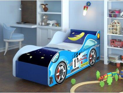 Детская кровать для мальчика Машина