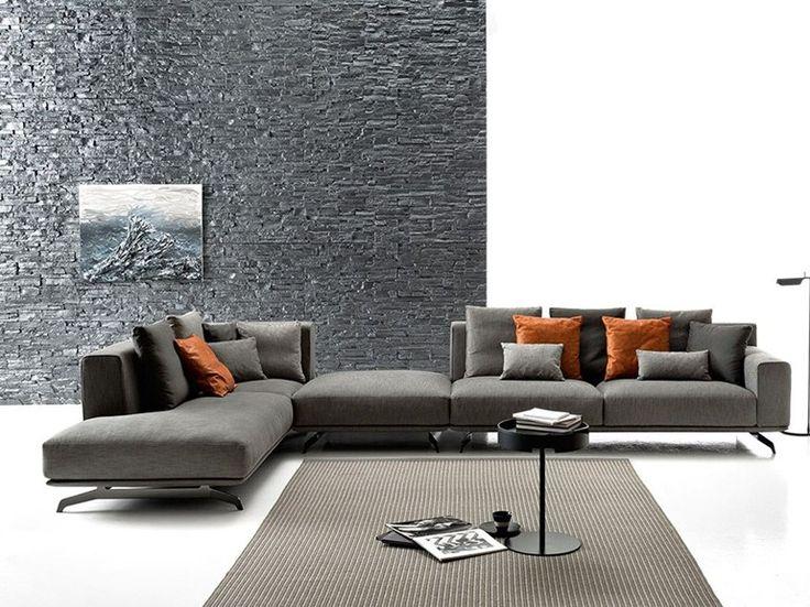 Divano componibile in tessuto DALTON SOFT by Ditre Italia | design Stefano Spessotto, Lorella Agnoletto