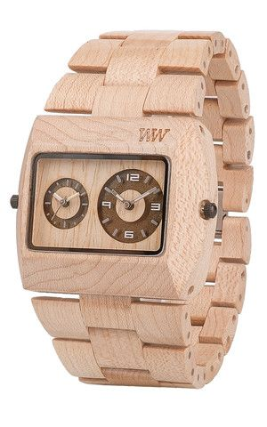 WeWood - JUPITER BEIGE. Plant a tree with each watch sold