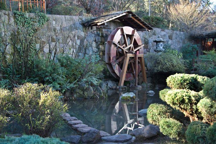 Jardín Japonés en el Cerro San Cristóbal