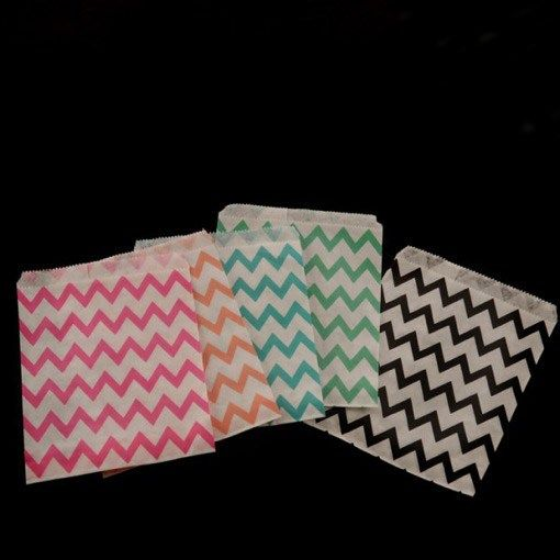 Chevron Candy Bags