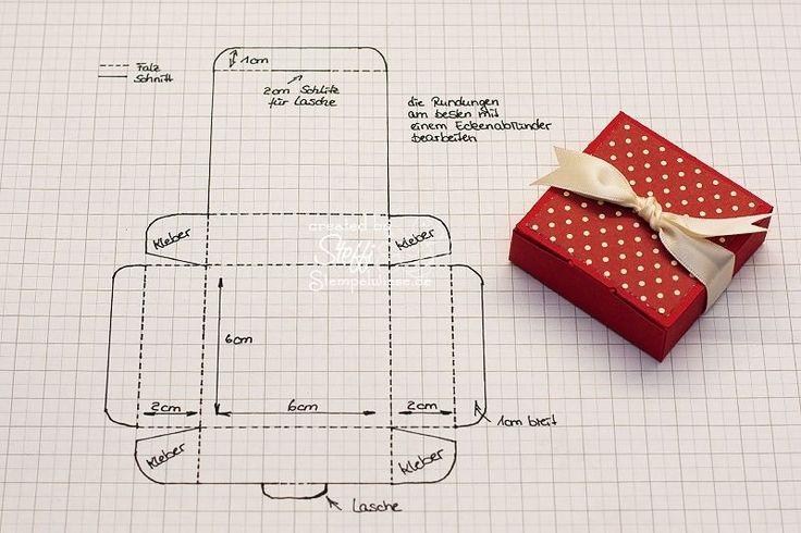 Tutorial - Schachtel für Ritter Sport Mini Stempelwiese • Eigentlich ist die Schachtel für die Minis etwas zu groß, aber sie hätten bequem Platz und es würde noch ein dicker Schein mit reinpassen :D Die Schachtel
