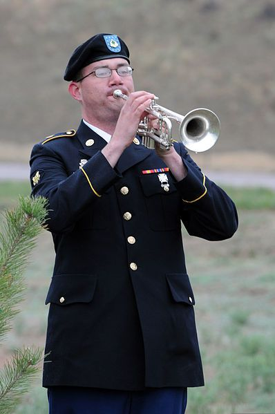 TAPS:  When Did the Playing of TAPS Become an Official Part of the Honors Received at a Military Funeral?
