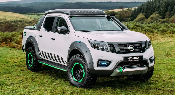 Nissan Navara EnGuard Concept Is The Ultimate Rescue Machine