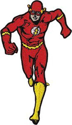 DC Comics Originals The Flash Running Patch (Can Be Ironed Or Sewn On), (Justice League) Officially Licensed DC Comics Products DC http://www.amazon.com/dp/B00N25LK54/ref=cm_sw_r_pi_dp_iafjvb0KVN20S