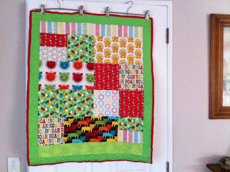 Circus quilt for UK