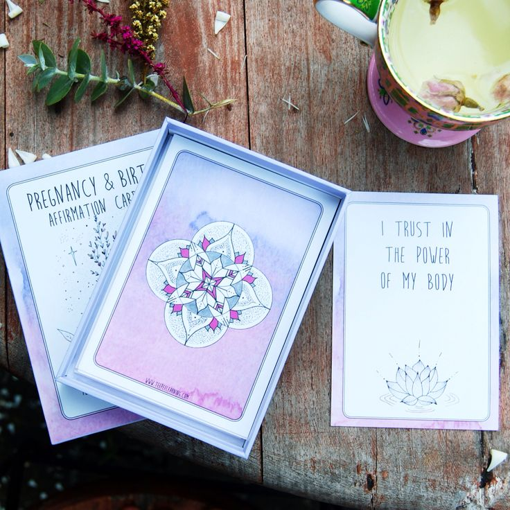 Pregnancy and birth affirmations. Set of 42 beautiful quotes and illustrations. www.teepeelearning.com #pregnancyaffirmations #birthquotes #quotesforlabor #doula #midwife